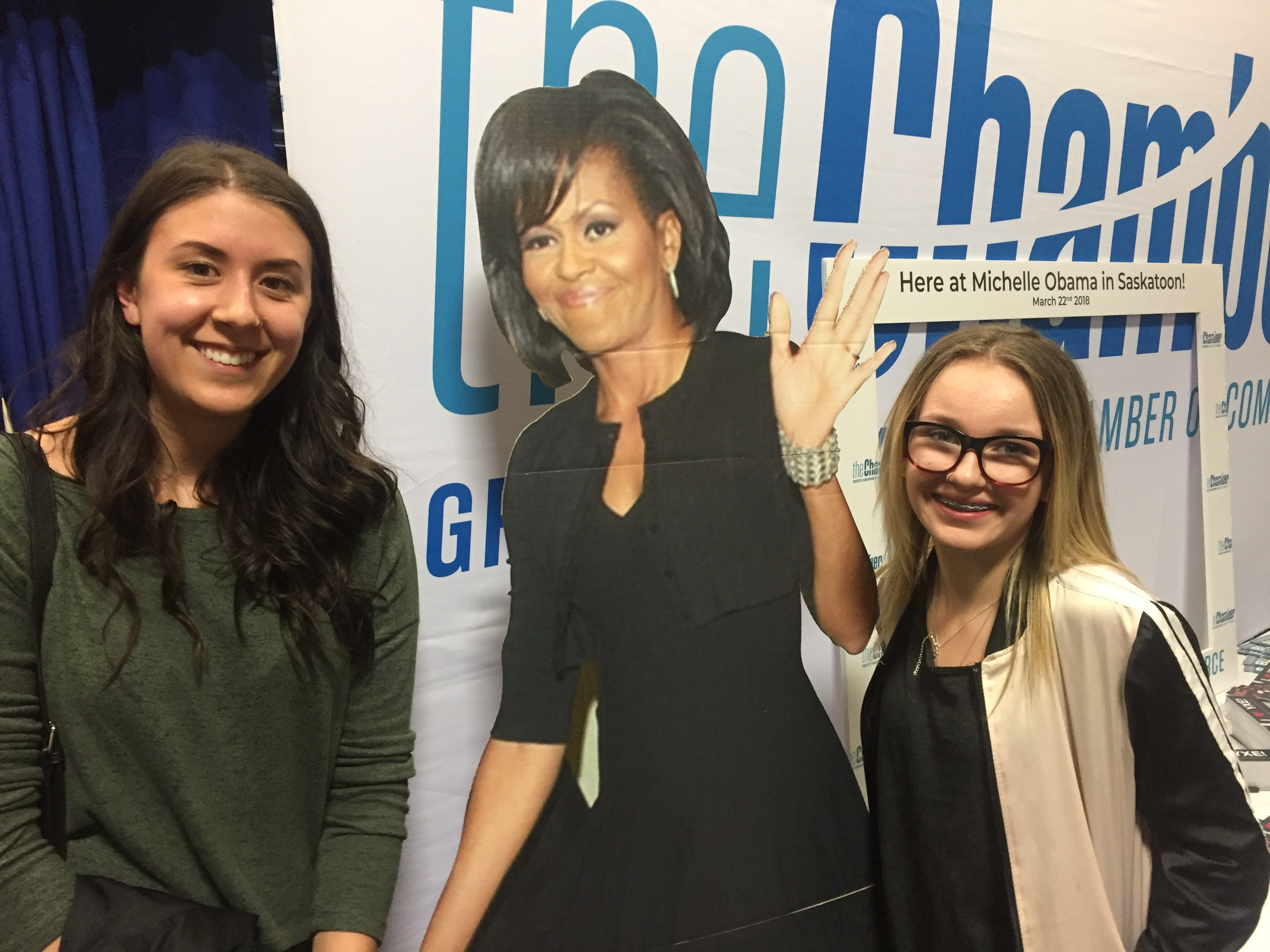 Gift Of Obama Inspiration for a Saskatoon Big Sister